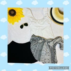 Perfect BeachOutfit Swimsuit,Hat,Shorts, Sarong,